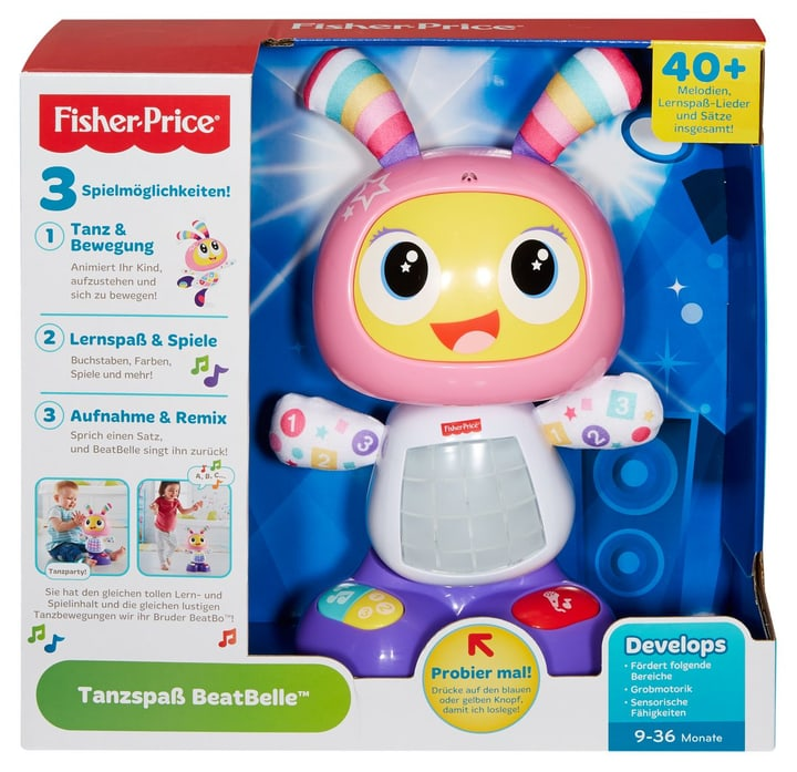 Fisher-Price Tanzspass BeatBelle (D) 747316290000 Photo no. 1