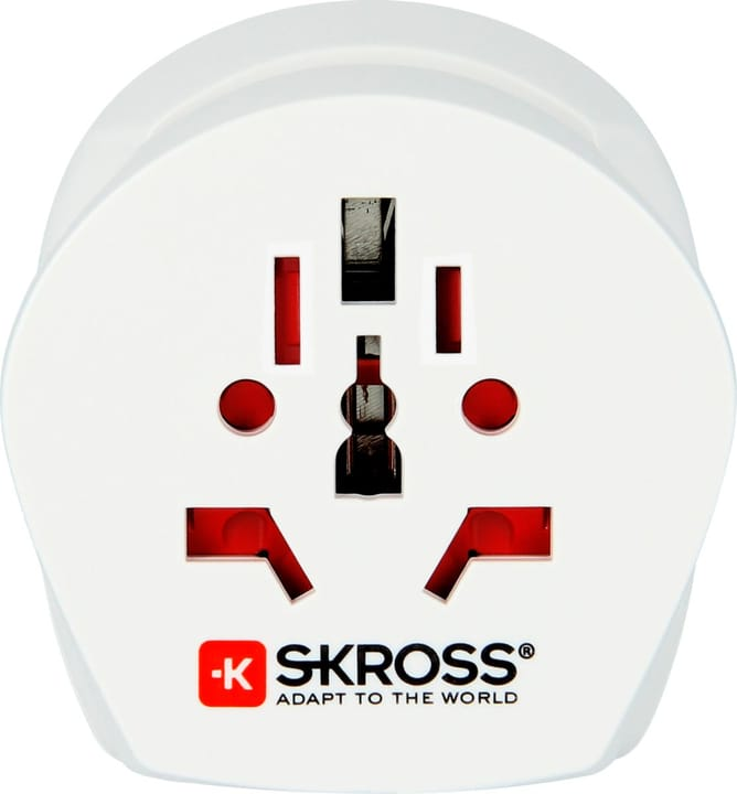Combo Travel Adapter UK & Europe / EU to UK Adaptateur De Voyage Skross 785300138545 Photo no. 1