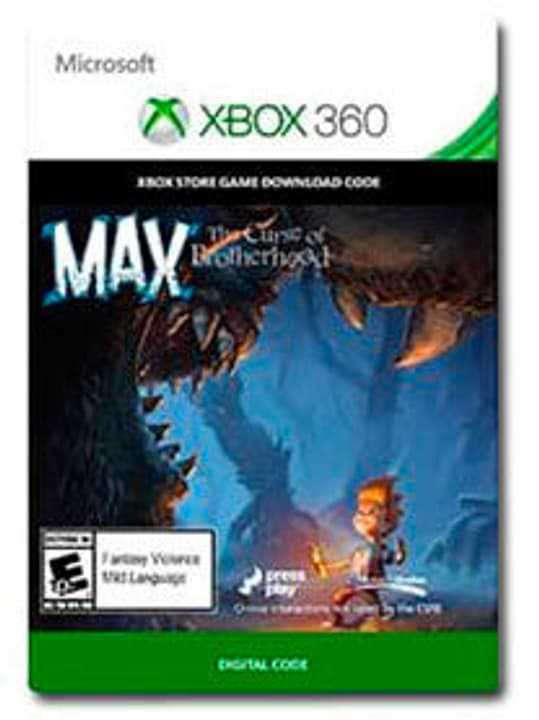 Xbox 360 Max - The Curse of Brotherhood Digital (ESD) 785300135405 Bild Nr. 1