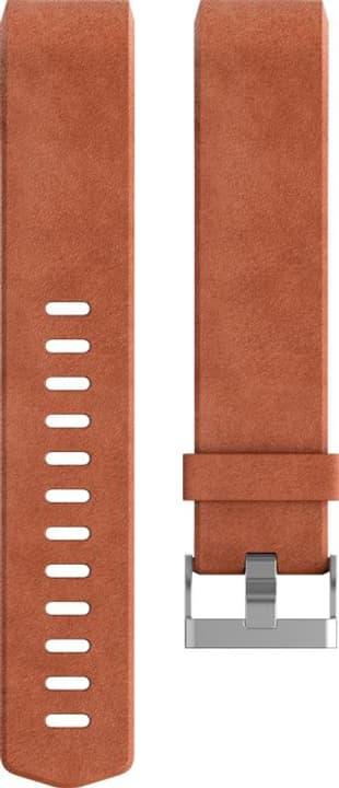 Charge 2 cuir Marron Large Bracelet Fitbit 785300131179 Photo no. 1