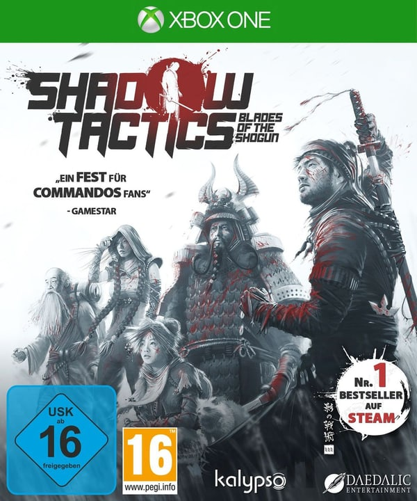 Xbox One - Shadow Tactics: Blades of the Shogun Physique (Box) 785300122075 Photo no. 1