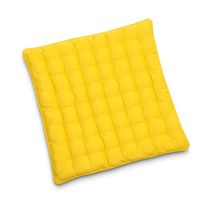 MIAMI Coussin d'assise 40x40 378107700000 Dimensions L: 40.0 cm x P: 40.0 cm x H: 3.0 cm Couleur Moutarde Photo no. 1