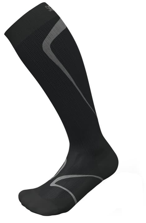 RUNNING SOCKS Chaussettes de course compression Sigvaris 497144435420 Couleur noir Taille 35-38.5 s Photo no. 1