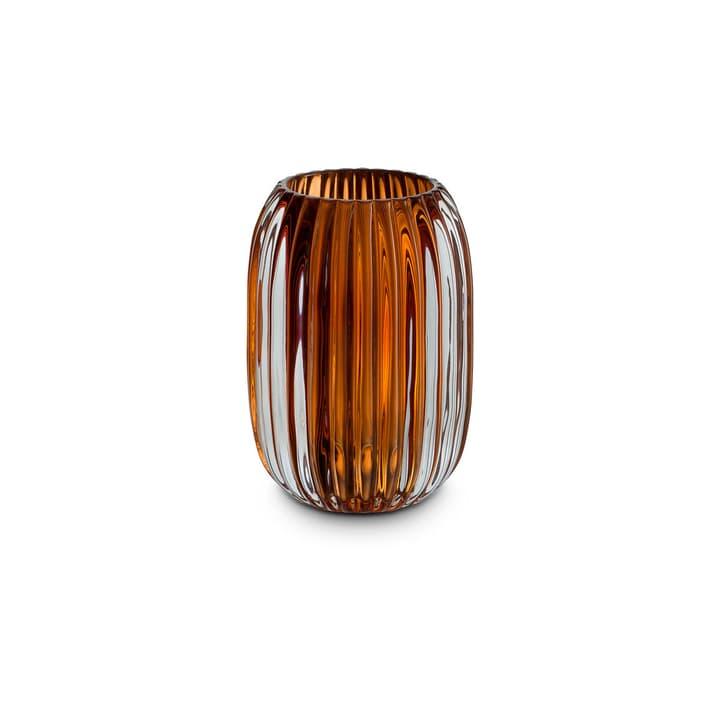 LUNA Teelichthalter 396088000000 Grösse B: 9.4 cm x T: 9.4 cm x H: 13.0 cm Farbe Orange Bild Nr. 1