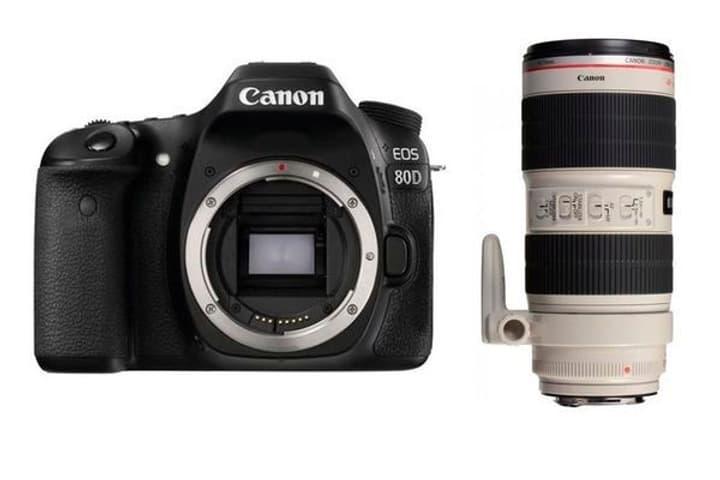 EOS 80D + EF 70-200mm 2.8L Canon 785300126143 Photo no. 1