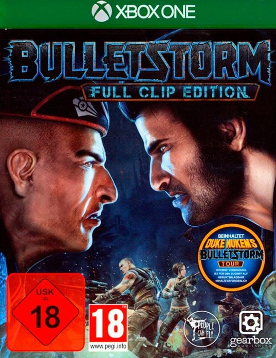 Xbox One - Bulletstorm Full Clip Edition Box 785300122609 Photo no. 1