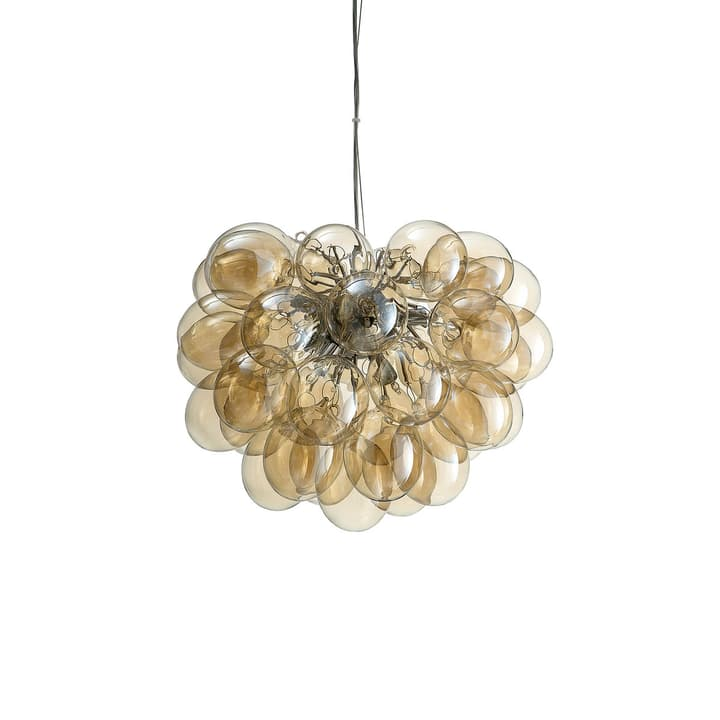 VIDRIO Suspension 380043800000 Dimensions L: 50.0 cm x P: 50.0 cm x H: 63.0 cm Couleur Couleur or Photo no. 1