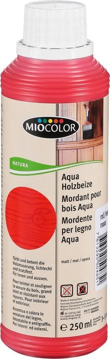 Aqua Holzbeize Rot 250 ml Miocolor 661284600000 Farbe Rot Inhalt 250.0 ml Bild Nr. 1