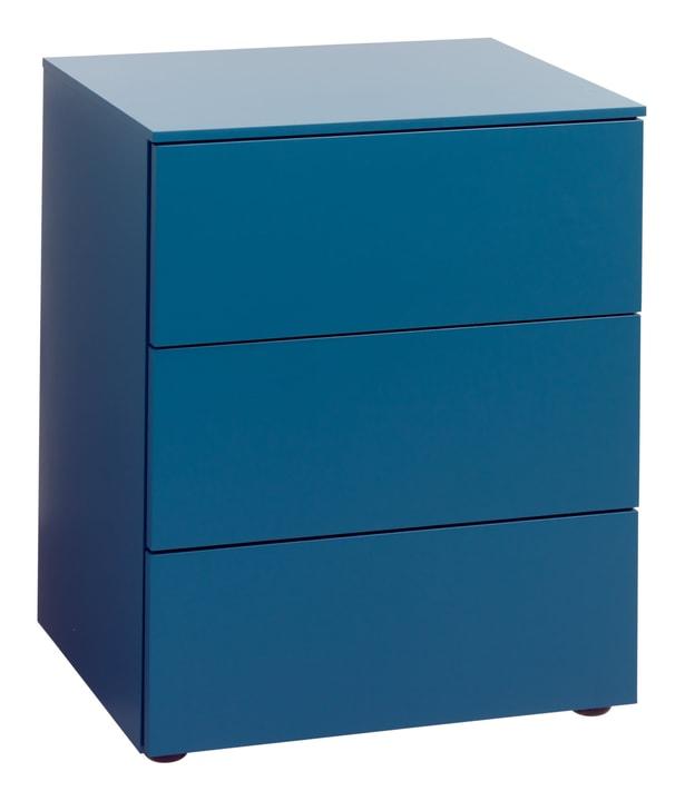 TRESOR Table de chevet 404433185040 Dimensions L: 50.0 cm x P: 41.0 cm x H: 60.0 cm Couleur Bleu Photo no. 1
