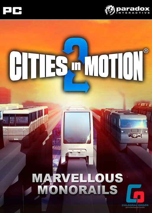 PC/Mac - Cities in Motion 2: Marvellou (D/E) Download (ESD) 785300134131 Photo no. 1