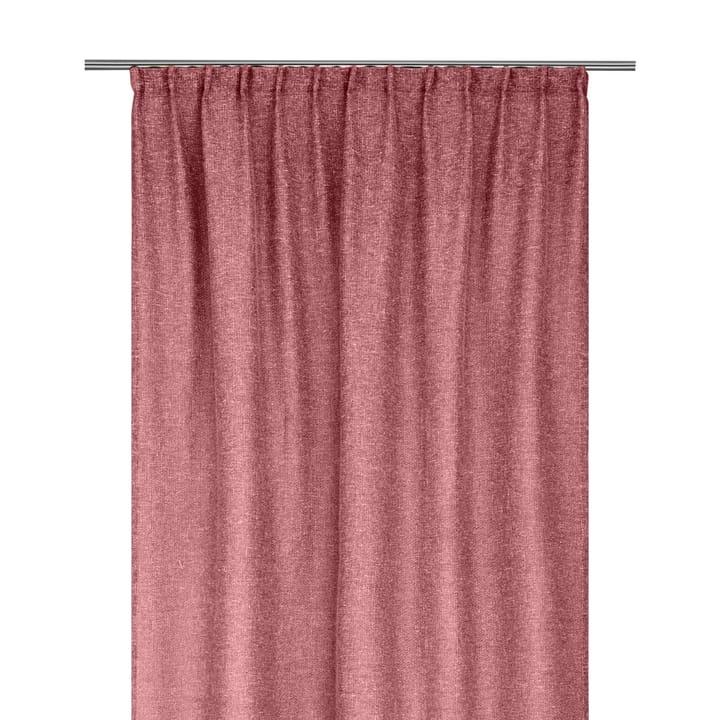 YANIS Rideau opaque prêt à poser 372096722030 Dimensions L: 150.0 cm x H: 270.0 cm Couleur Rouge Photo no. 1