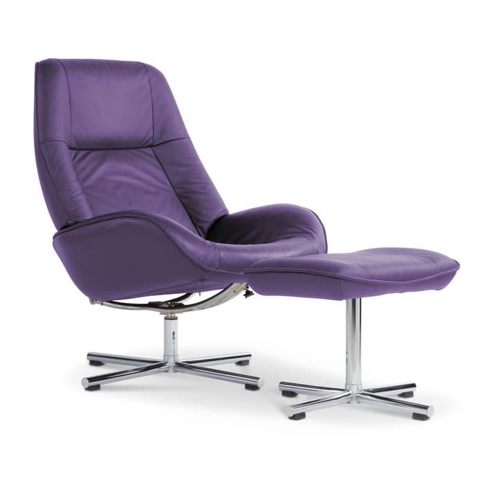 BRIGHTON Sessel und Hocker 360004026804 Grösse B: 72.0 cm x T: 84.0 cm x H: 102.0 cm Farbe Violett Bild Nr. 1