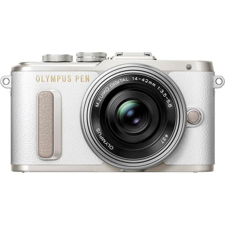 PEN E-PL8 Pancake Zoom weiss Systemkamera Kit Olympus 785300125802 Bild Nr. 1