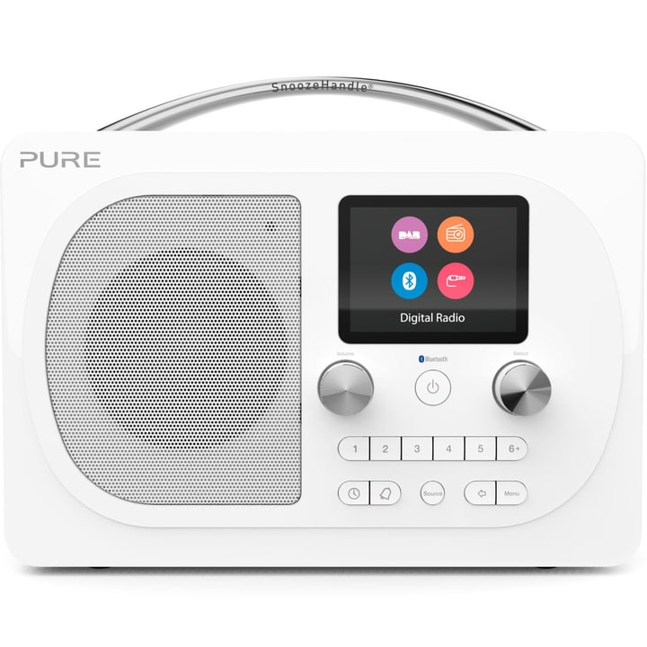 Evoke H4 - Blanc Radio DAB+ Pure 785300134992 Photo no. 1