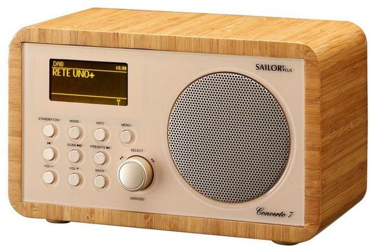 Concerto 7 - Bambus Internet / DAB+ Radio Sailor 785300130713 Bild Nr. 1