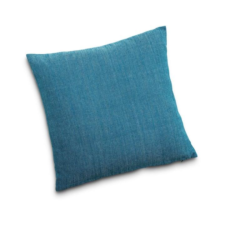KEIRAN Coussin décoratif 378067400000 Couleur Pétrole Dimensions L: 50.0 cm x H: 50.0 cm Photo no. 1
