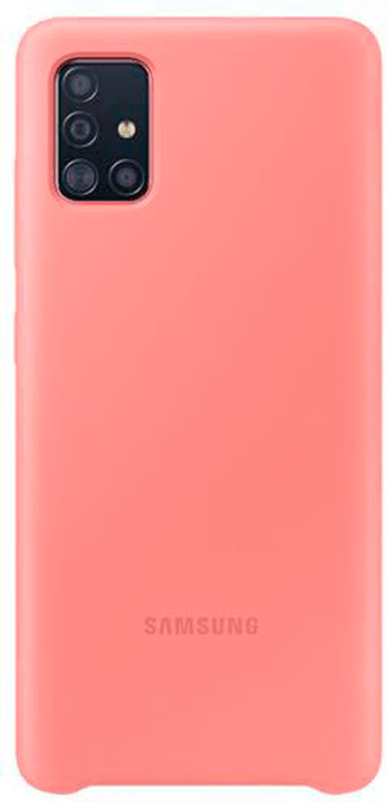 Silicone Cover pink Coque Samsung 798653400000 Photo no. 1