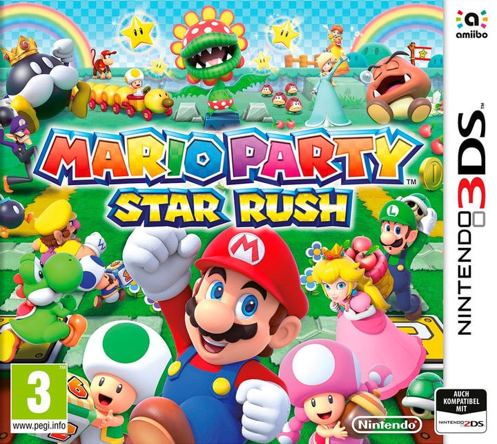 3DS - Mario Party Star Rush Physique (Box) 785300121265 Photo no. 1