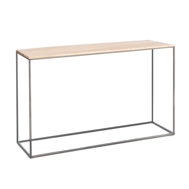 COFFEE table club 362256000000 Dimensions L: 120.0 cm x P: 35.0 cm x H: 71.0 cm Couleur Frêne bianco Photo no. 1