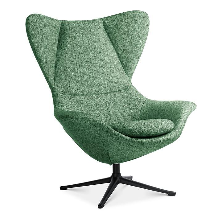BAYA Poltrona, piedi nero 360435407060 Colore Verde Dimensioni L: 90.0 cm x P: 90.0 cm x A: 112.0 cm N. figura 1