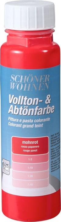 Pittura pien e per digradazione Rosso papavero 250 ml Schöner Wohnen 660901500000 Colore Rosso papavero Contenuto 250.0 ml N. figura 1