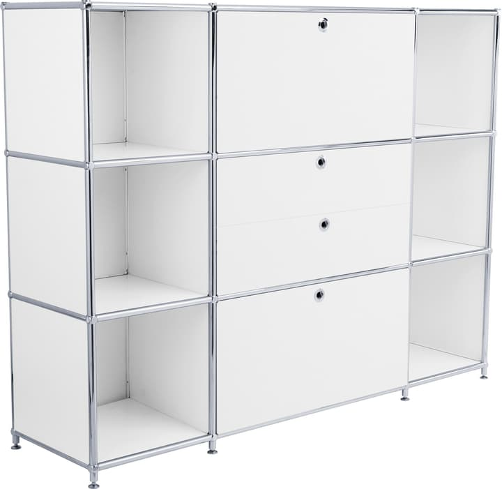 FLEXCUBE Buffet haut 401809400010 Dimensions L: 152.0 cm x P: 40.0 cm x H: 118.0 cm Couleur Blanc Photo no. 1