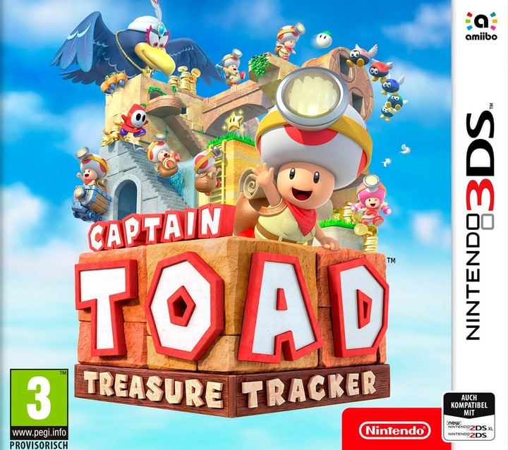 3DS - Captain Toad: Treasure Tracker (I) Physisch (Box) 785300134078 Bild Nr. 1