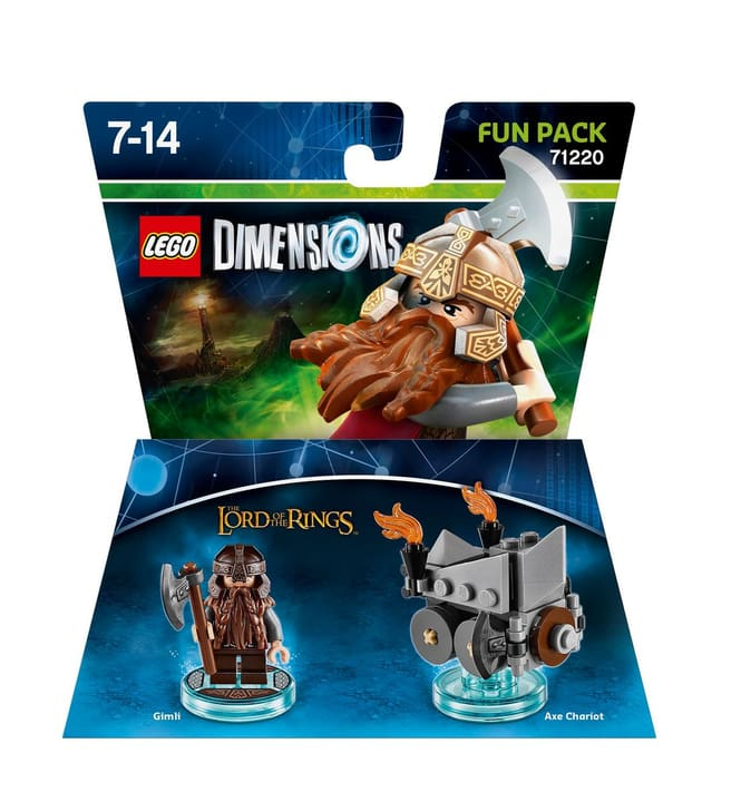 "LEGO Dimensions Fun Pack Lord of the Rings ""Gimli"" 785300119847 Bild Nr. 1"