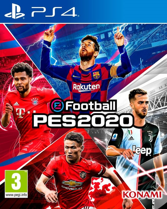 PS4 - PES 2020 - Pro Evolution Soccer 2020 Box 785300145958 Photo no. 1