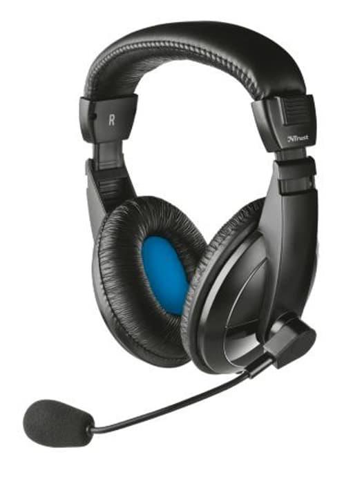 Quasar Headset Klinke noir Headset Trust-Gaming 798216700000 Photo no. 1