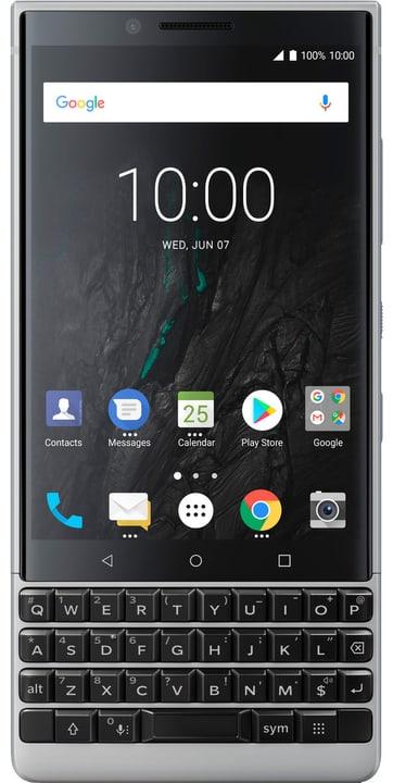 KEY2 QWERTZ 64GB argent Smartphone BlackBerry 785300136868 Photo no. 1