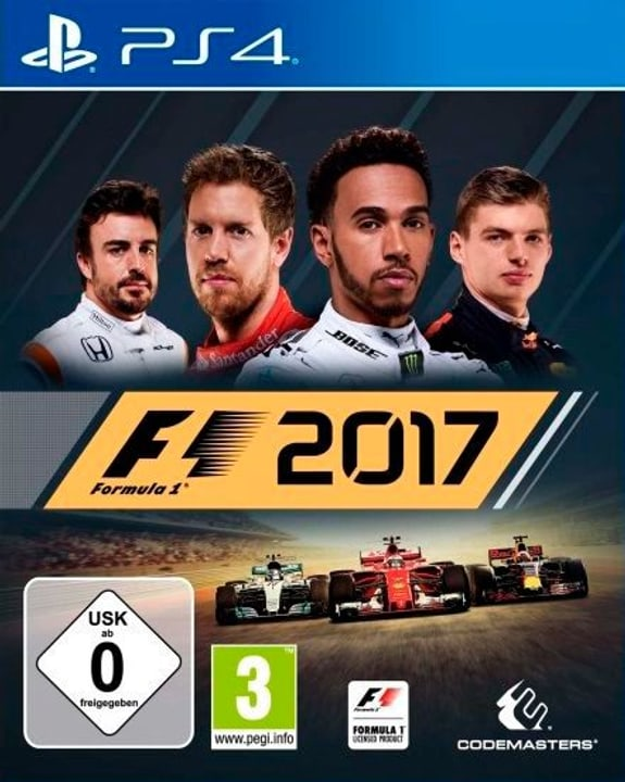 PS4 - F1 2017 Physique (Box) 785300129708 Photo no. 1