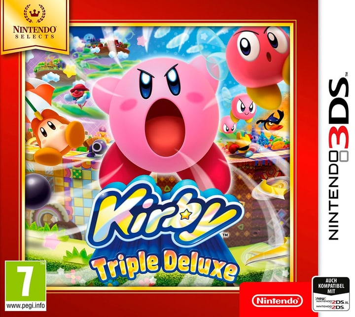 3DS - Nintendo Selects: Kirby Triple Deluxe Box 785300129620 Photo no. 1