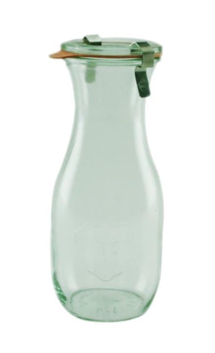 Bottiglia in vetro WECK da 1/2 l 656140700002 Colore Transparente Taglio ø: 6.0 cm x A: 18.4 cm N. figura 1