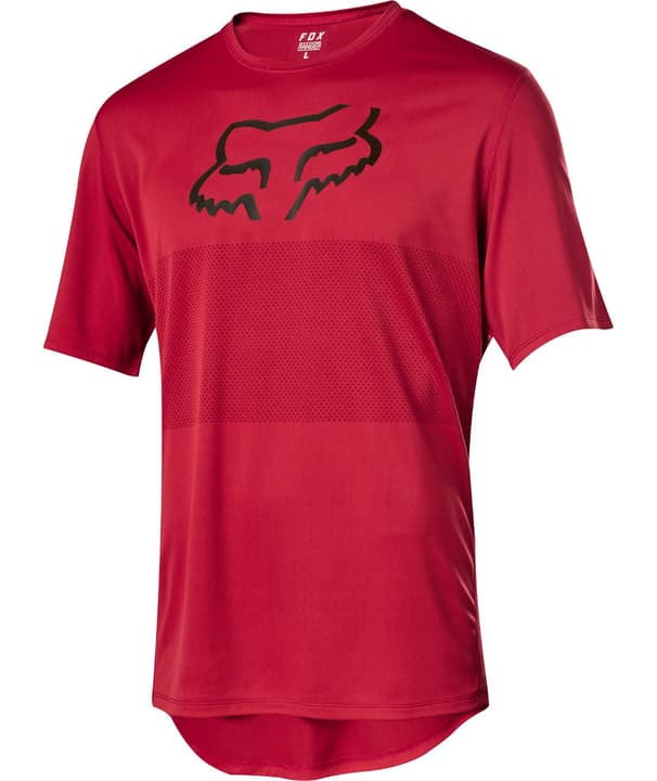 Ranger Foxhead Herren-Kurzarmtrikot Fox 461371200330 Farbe rot Grösse S Bild Nr. 1