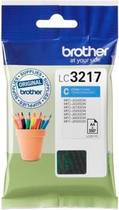 LC-3217C cyan Cartouche d'encre Brother 798538300000 Photo no. 1