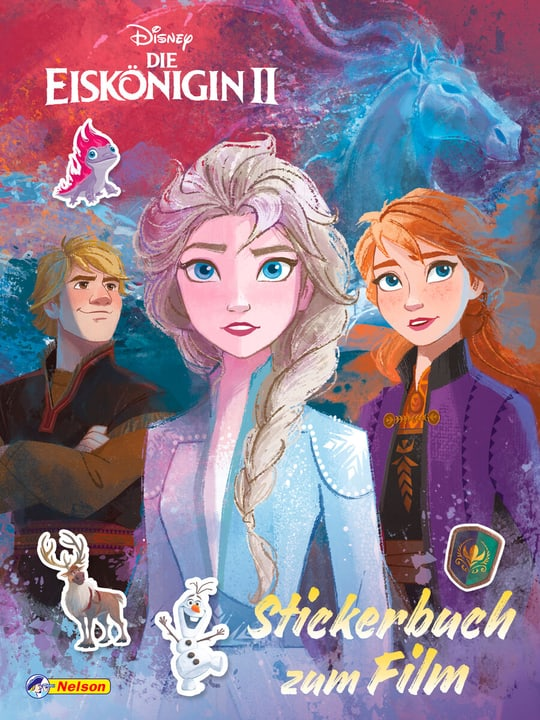 Frozen II Stickerbuch 782490900000 Photo no. 1