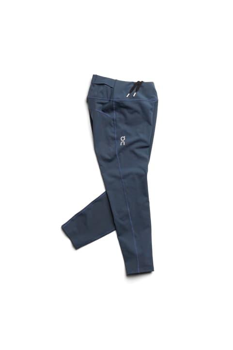 Tights 7/8 Leggins pour femme On 470171200322 Couleur bleu foncé Taille S Photo no. 1