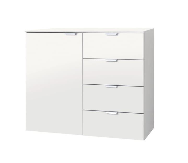 ORSON Commode 404476500000 Dimensions L: 100.0 cm x P: 42.0 cm x H: 80.0 cm Couleur Blanc Photo no. 1