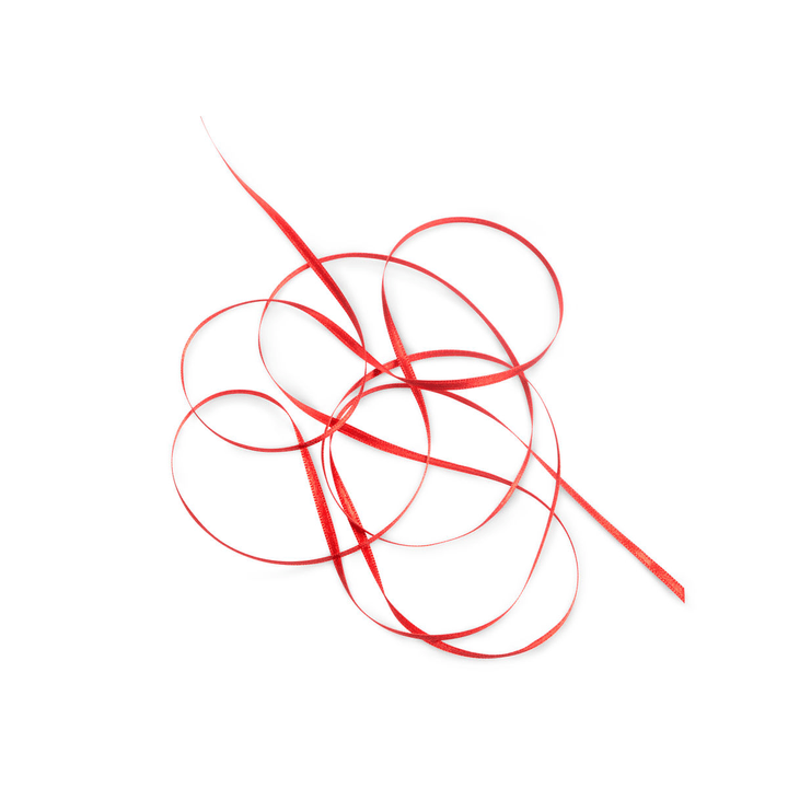 KIKILO Satinband 16m/3mm 386111600000 Grösse B: 1600.0 cm x T: 0.3 cm x H: 0.1 cm Farbe Rot Bild Nr. 1