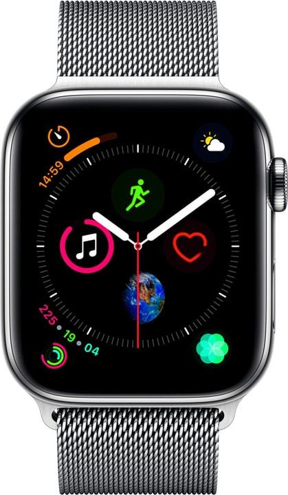 Watch Serie 4 44mm GPS+Cellular Stainless Steel Milanese Loop Smartwatch Apple 798454500000 Bild Nr. 1