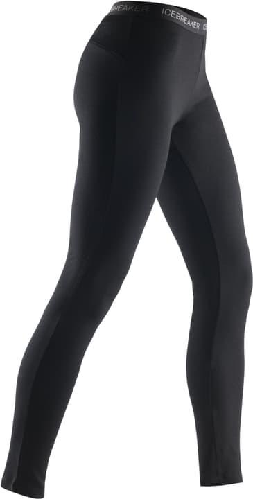 Vertex Leggings Caleçon long pour femme Icebreaker 477046400220 Couleur noir Taille XS Photo no. 1