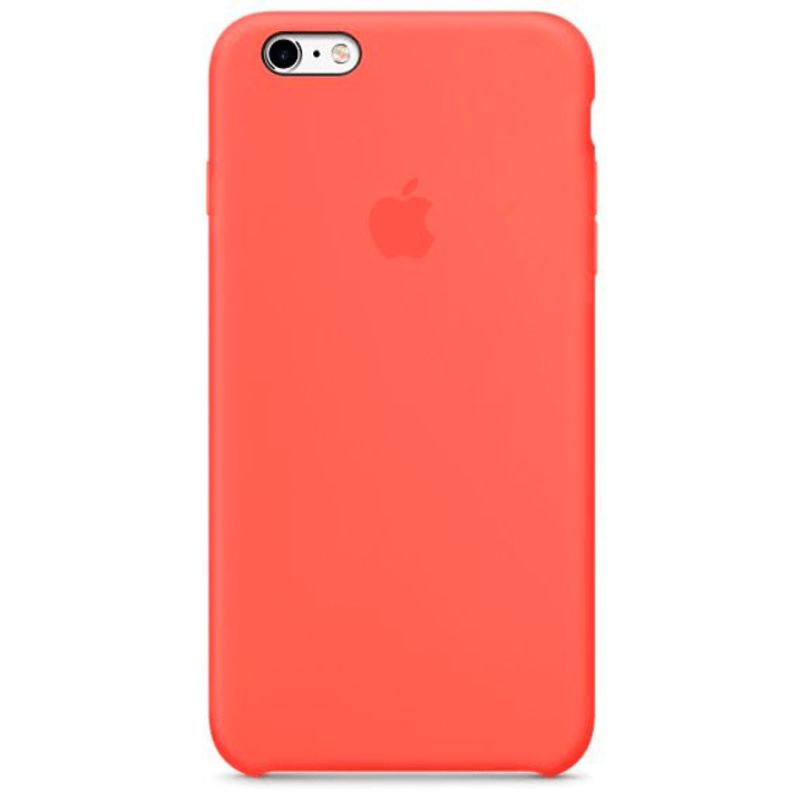 Silikon Case iPhone 6s Plus Apricot Hülle Apple 785300125207 Bild Nr. 1