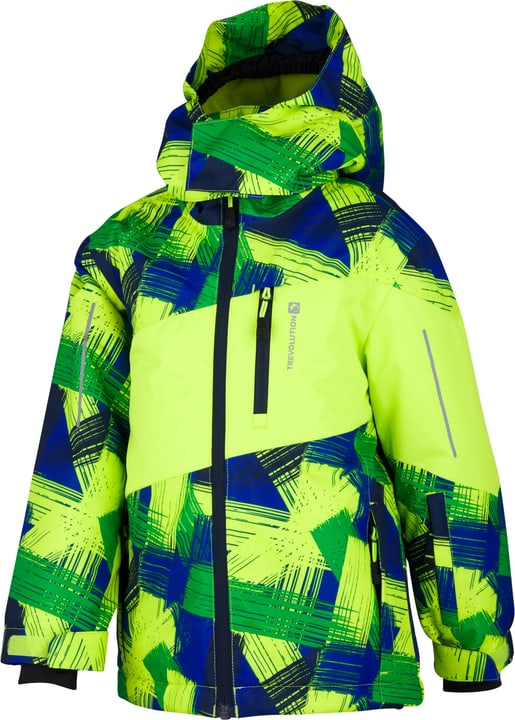 Veste de ski pour garçon Trevolution 472355409262 Couleur vert neon Taille 92 Photo no. 1