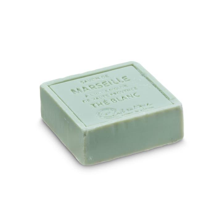 MARSEILLE savon thé blanc 374028900000 Dimensions L: 6.5 cm x P: 6.5 cm x H: 2.5 cm Couleur Pistache Photo no. 1