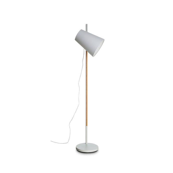 HIDEOUT Lampadaire 380072200000 Dimensions L: 30.0 cm x P: 30.0 cm x H: 164.0 cm Couleur Blanc Photo no. 1