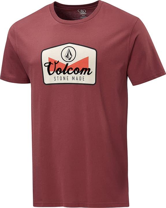 Cristicle BSC SS T-shirt pour homme VOLCOM 462385200388 Couleur bordeaux Taille S Photo no. 1