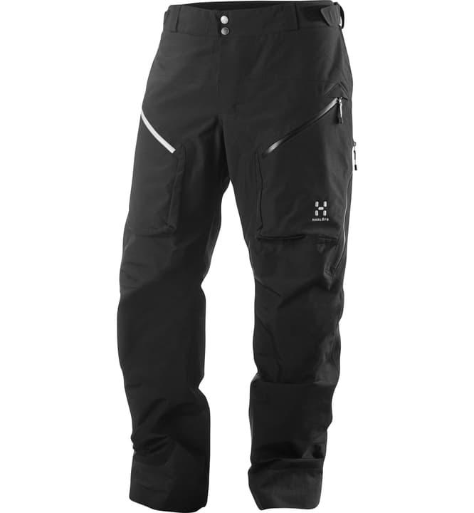 Chute III Pantalon de randonnée pour homme Haglöfs 461071900620 Colore nero Taglie XL N. figura 1
