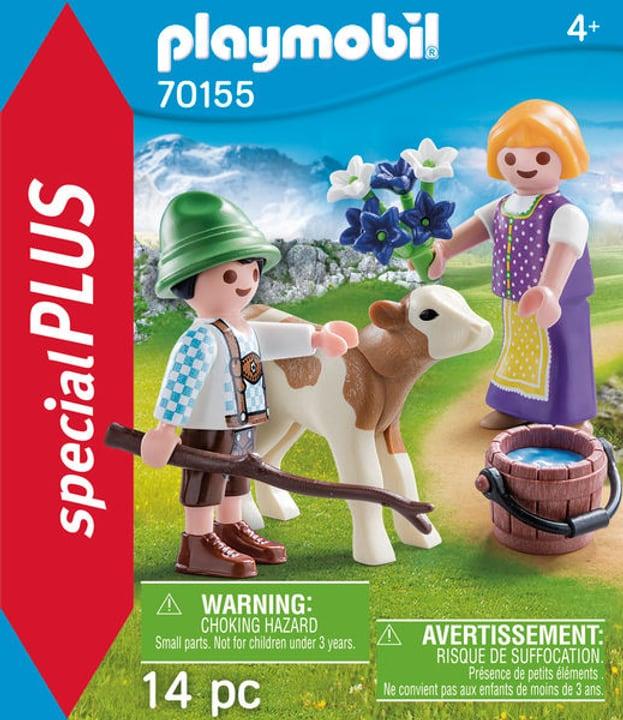 PLAYMOBIL 70155 Enfants avec veau 748017000000 Photo no. 1