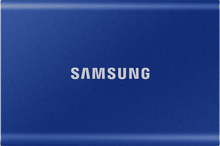SSD T7 portable 500 GB indigo blue SSD Extern Samsung 785300153269 Bild Nr. 1